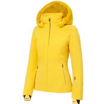 RH+ SUVRETTA W JACKET YELLOW FRONT